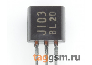 2SJ103-BL (TO-92) Полевой транзистор P-JFET 50В 14мА