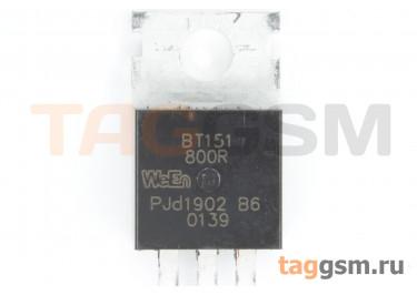 BT151-800R (TO-220AB) Тиристор 15мА 12А 800В