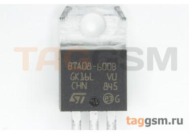 BTA08-600BRG (TO-220) Симистор 8А 600В