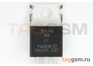BTA140-600 (TO-220AB) Симистор 35мА 25А 600В