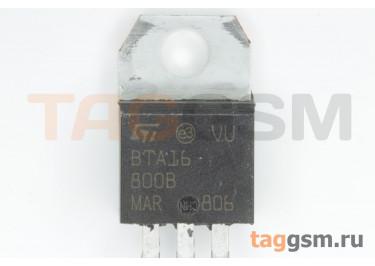 BTA16-800B (TO-220A) Симистор 50мА 16А 800В