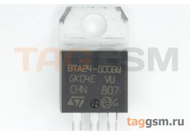 BTA24-800BWRG (TO-220A) Симистор 50мА 25А 800В