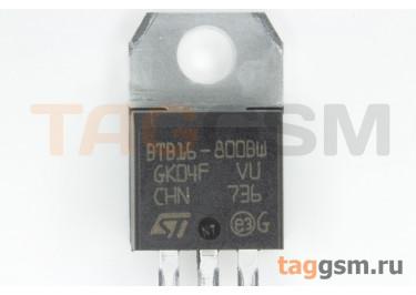 BTB16-800BWRG (TO-220B) Симистор 50мА 16А 800В