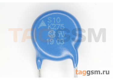 S10K275 (B72210S0271K101) Варистор 275В 43Дж
