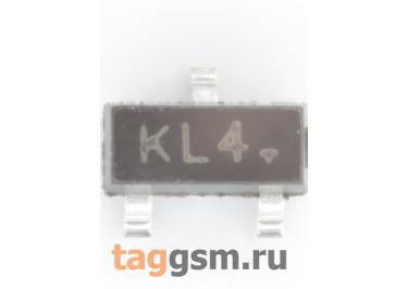 BAT54S (SOT-23) Диод Шоттки SMD 30В 0,2А (х2 последовательно)