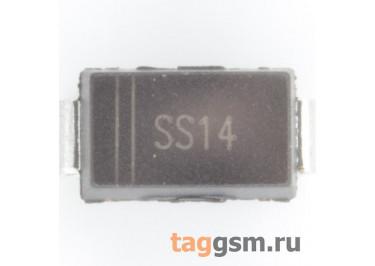 SS14 (DO-214AC) Диод Шоттки SMD 40В 1А