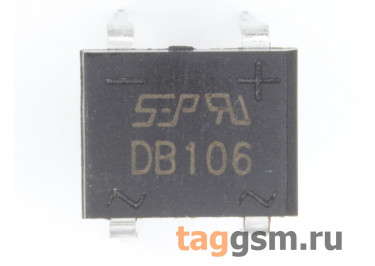 DB106 (DB-1) Мост диодный 800В 1А