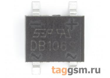 DB106S (DB-1S) Мост диодный SMD 800В 1А