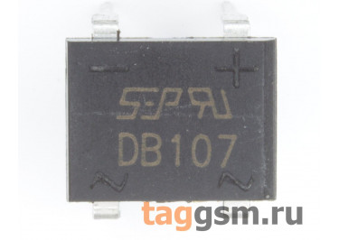 DB107 (DB-1) Мост диодный 1000В 1А