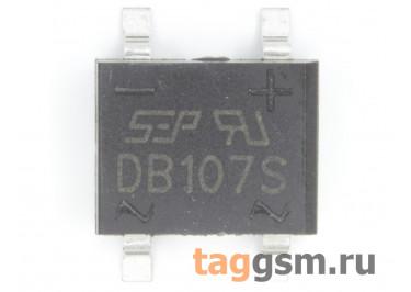 DB107S (DB-1S) Мост диодный SMD 1000В 1А