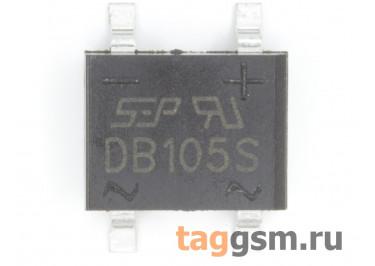 DB105S (DB-1S) Мост диодный SMD 600В 1А