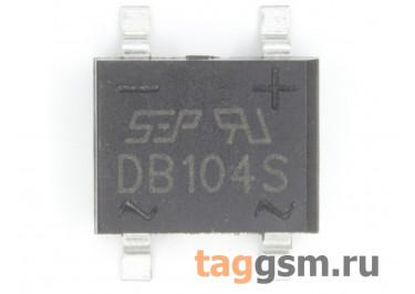 DB104S (DB-1S) Мост диодный SMD 400В 1А