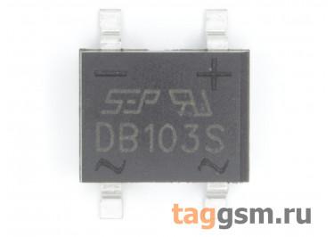 DB103S (DB-1S) Мост диодный SMD 200В 1А