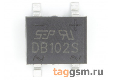 DB102S (DB-1S) Мост диодный SMD 100В 1А