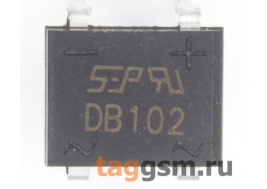 DB102 (DB-1) Мост диодный 100В 1А