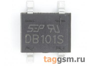 DB101S (DB-1S) Мост диодный SMD 50В 1А