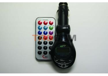 FM-модулятор  SD+USB+пульт  (new)