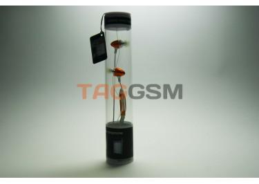 гарнитура iPhone в пластмассовой колбе оранжевая