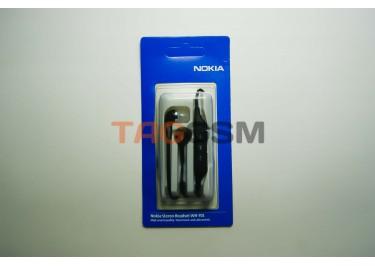 гарнитура Nokia WH-701 (черные) вакуумные