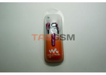 Гарнитура для Sony-Eric W810 (HPM-70) Pink в блистере