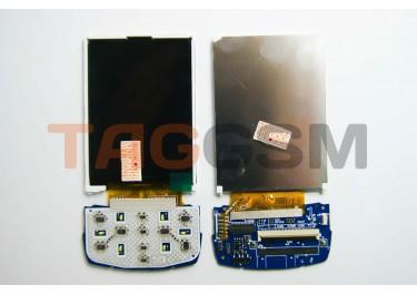 Дисплей для Samsung  D880 + клавиатурная подложка