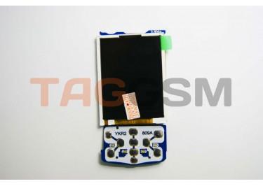 Дисплей для Samsung  E250D (для синей платы)  + клав. подложка