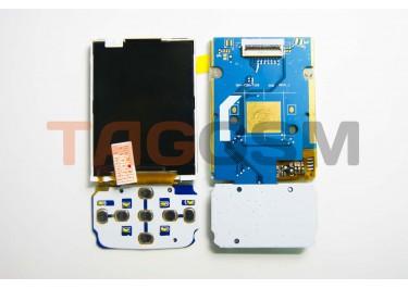 Дисплей для Samsung  F250 с клавиатурной подложкой