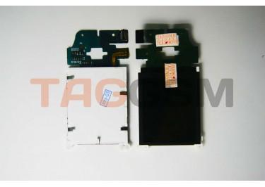 Дисплей для Sony Ericsson K750 / W800 класс A (зеленый шлейф)