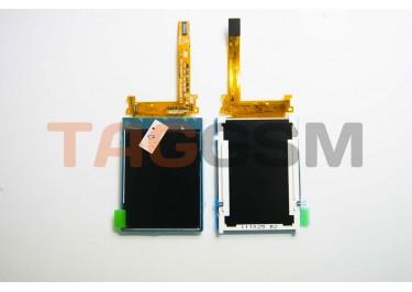 Дисплей для Sony Ericsson S500 / W580 класс A + защитное стекло (старая версия)