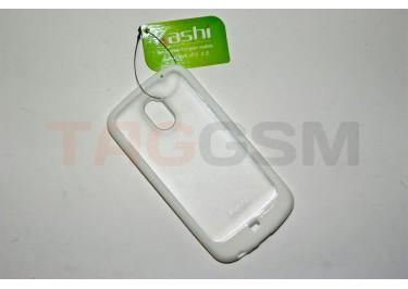 Задняя крышка KSH Samsung i9250 силикон-пластик+защитная пленка белая