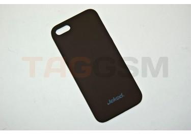 Задняя накладка Jekod для iPhone 5 (коричневая)