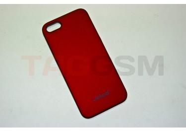 Задняя накладка Jekod для iPhone 5 (красная)