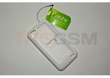 Задняя крышка KSH HTC One V / A510 силикон-пластик+защитная пленка белая