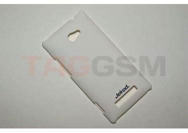 Задняя накладка Jekod для HTC Windows Phone 8X (белая)