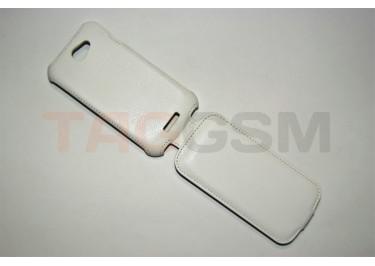 Сумка футляр-книга Armor Case для HTC One S (белая в коробке )