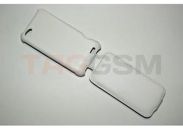 Сумка футляр-книга Armor Case для HTC One V (белая в коробке )
