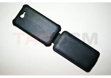 Сумка футляр-книга Armor Case для HTC One X (чёрная в коробке)