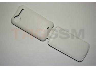 Сумка футляр-книга Armor Case для HTC Sensation (белая в коробке )