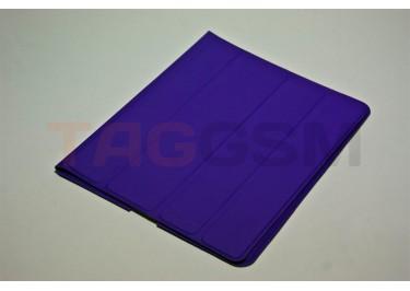 Чехол Slim Case IPAD2 чехол подставка №4 прорезиненный фиолетовый