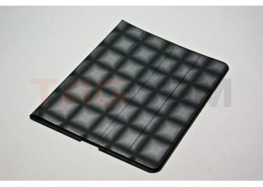 Чехол Slim Case IPAD2 чехол подставка №5 абстракция прорезиненный черный