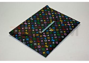 Чехол сумка IPAD2 Louis Vuitton №3 кожа черный