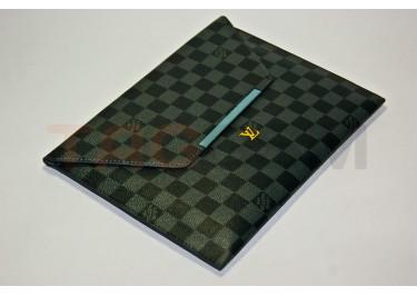 Чехол сумка IPAD2 Louis Vuitton №4 кожа серый