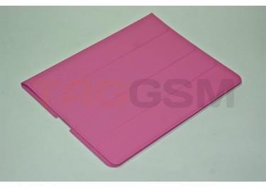 Чехол Slim Case IPAD2 чехол подставка №1 прорезиненный розовый