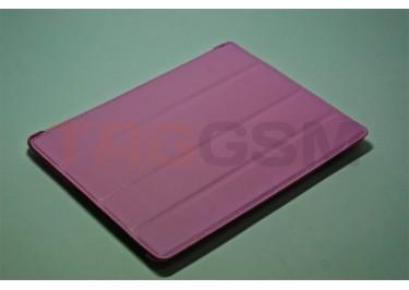 Чехол футляр-книга для iPad 3 Slim (розовый)