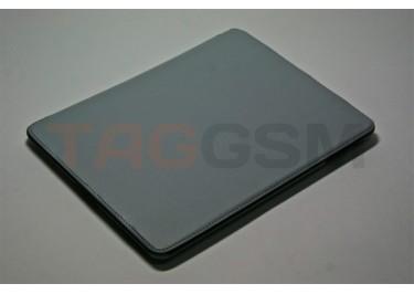 Чехол футляр-книга Jisoncase для iPad 2 (серый без логотипа)