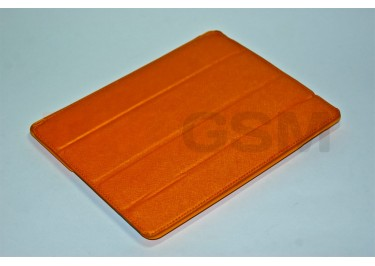 Сумка футляр-книга для iPad 3 Slim (рифлёный оранжевый)