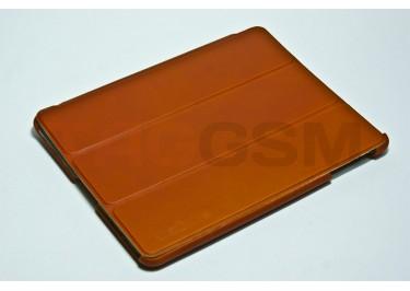 Чехол-подставка SGP Leinwand для iPad3 / iPad 2 (кожа коричневая)
