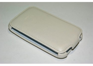 Сумка футляр-книга Armor Case для HTC ChaCha (Luxбелая в коробке + плёнка)