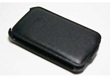 Сумка футляр-книга Armor Case для HTC ChaCha (Luxчёрная в коробке + плёнка)
