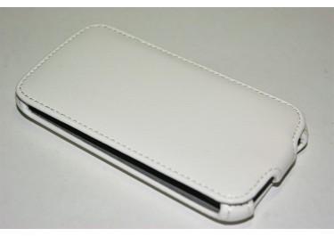 Сумка футляр-книга Armor Case для HTC Sensation (белая без логотипа в техпаке)